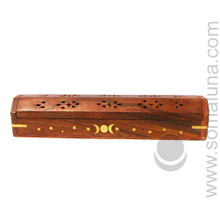 Triple Moon Box Stick Incense Burner