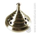 Silver Honeypot Incense Burner