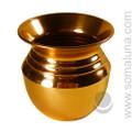 Copper Vase Offering Bowl