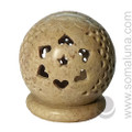 Stone Heart Hexagram Candle & Incense Holder