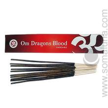 Om Dragon's Blood Incense 15g