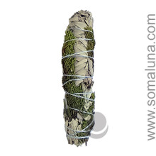 White Sage & Juniper Large Smudge Wand
