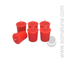 Romance Red Votive Candle