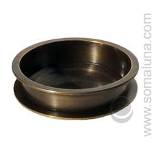 Tibetan Bronze Rim Bowl Incense Burner