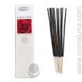 Nitiraj Platinum Stick Incense, English Rose 25g
