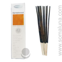 Nitiraj Platinum Stick Incense, Sandalwood 25g