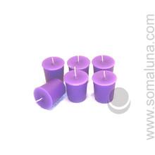 Royal Purple Votive Candle