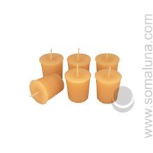 English Bone Votive Candle