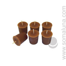 Autumn Brown Votive Candle