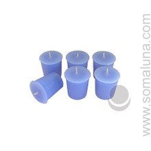 Morning Blue Votive Candle