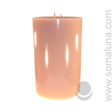 English Bone 9.5 x 6 Pillar Candle 3-wick