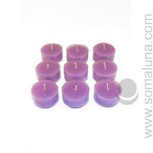 Royal Purple Tealight Candle