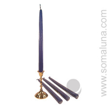 Patriot Blue 12 inch Taper Candle