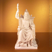 Zeus Enthroned Statue