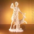 Artemis with Deer Statue (Diana)
