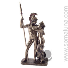 Ares and Aphrodite, bronze