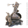 Poseidon On Chariot, bronze (Neptune)