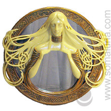 Celtic Morgana Round Mirror