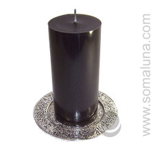 "Asta Mangala Candle Plate 5.75"""