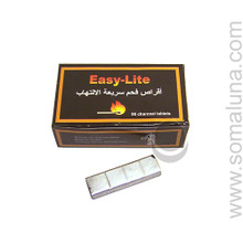 Easy Lite Hookah Charcoal Tablets