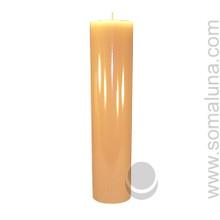 English Bone 12.5 x 3 Pillar Candle