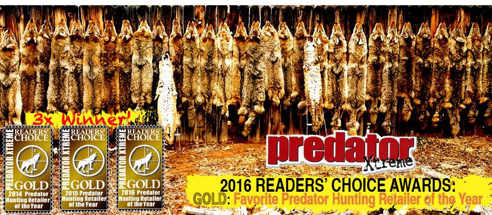 2016 Favorite Predator Hunting Retailer award winner