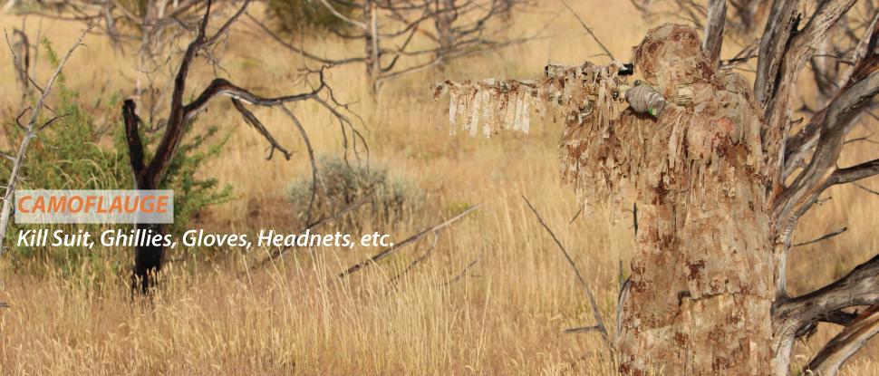 Camoflauge for hunting predators