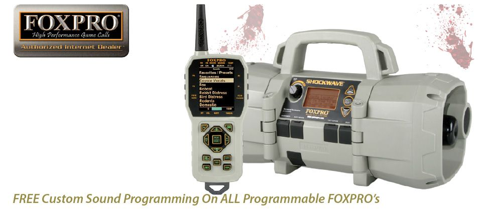Shop Custom Programmed FOXPRO's at AllPredatorCalls.com