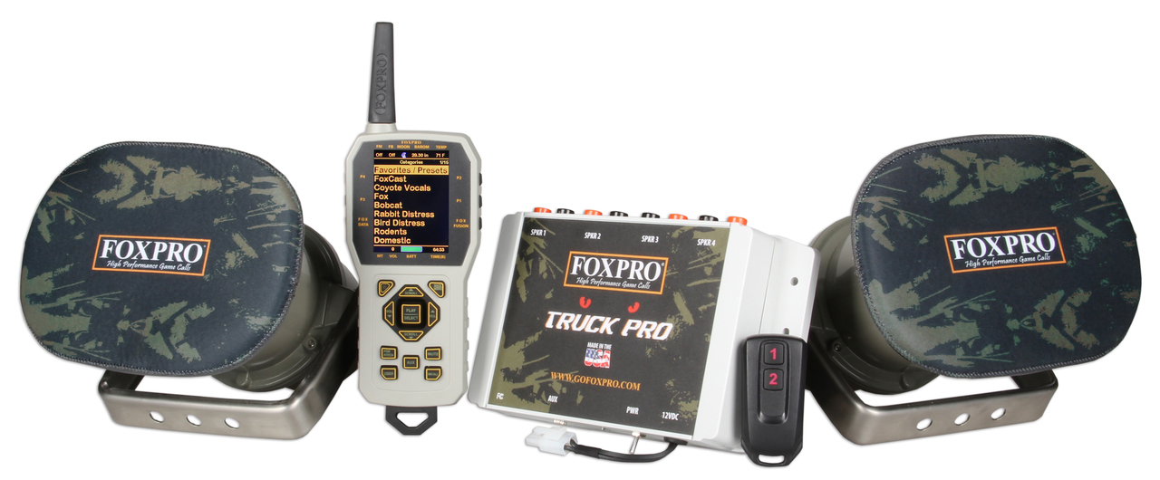 FOXPRO Truck Pro with Large Speakers
