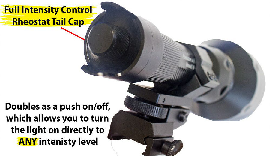 A67IC Full intensity Control spooks less animals