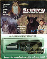 Sceery Game Call Open Reed Predator AP7