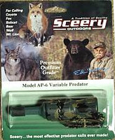 Sceery Game Calls Variable Predator AP6
