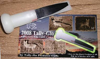 Tally Ho 2008 Tally Glo Glow In The Dark Limited Addition Call 5th in a series of highly collectable calls
