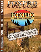 FOXPRO Outdoors Video Series Predators Volume 1 DVD
