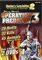Hunters Specialties Johnny Stewart Operation Predator 3 70696 DVD Format