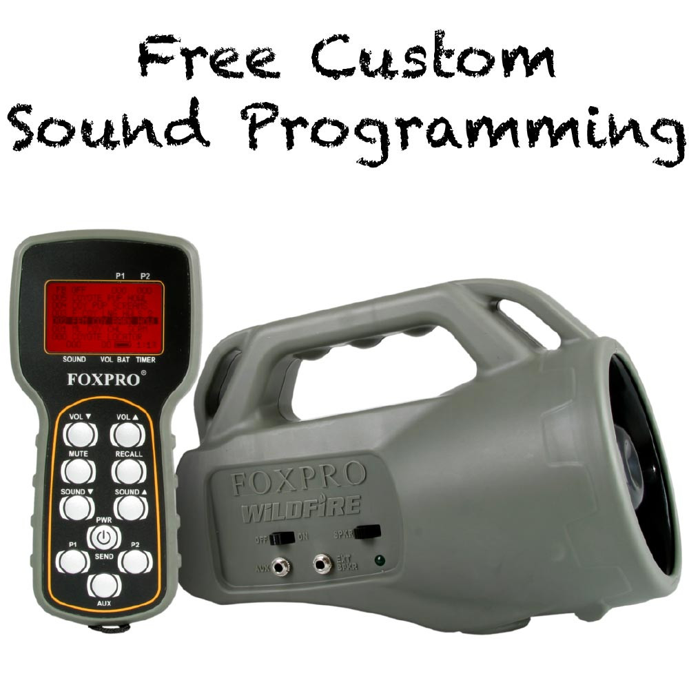 Free Custom Sound Programming on FOXPRO Wildfire 2