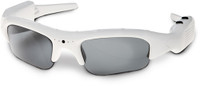 Hunters Specialties I-Kam Xtreme 3.0 Mega Pixel Video Recording Sunglasses White Frame 50003