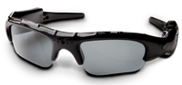 Hunters Specialties I-Kam Xtreme 3.0 Mega Pixel Video Recording Sunglasses Gloss Black Frame 50013