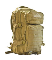Red Rock Outdoors Coyote Tan Assault Day Pack 80126COY D