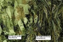 APC Kill Suit and Ghillie Suit Material Comparison. String vs Strip Design