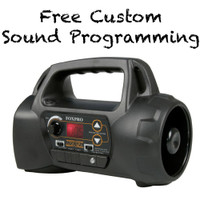 FOXPRO NX4 With 50 Custom Programmed Calls NON Remote Unit Digital Game Call NX4 Black