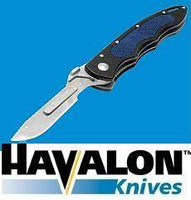Havalon Piranta Tracer 22 Pro Replaceable Blade Hunting Knife Combo Pack with 12 Replacement blades, and Holster XTC-22R