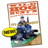 Wild Hog Hunting with Byron South DVD