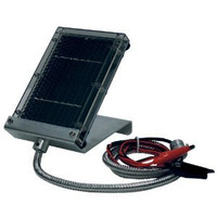 Primos Solar Panel Charger For 6-VDC Sealed Lead Acid Batteries