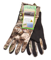 Primos Stretch-Fit Gloves with Sure Grip & Extended Cuff Realtree APG HD 6676
