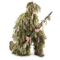 Red Rock Outdoors Big Game Leaf Cut Design Ghillie Suit Backwoods Camo 70965 D