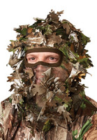 Hunters Specialties Camo Leafy Head Net Realtree Xtra Green 07201