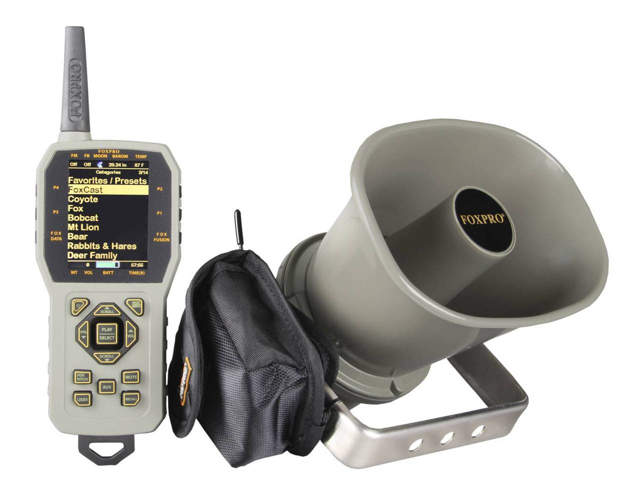 FOXPRO CS24C digital game call with 100 custom sounds and tx1000 remote control