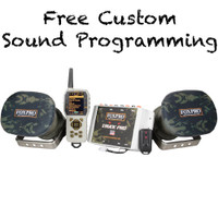 FOXPRO Truck Pro STANDARD Digital Caller, 100 Custom Calls, with TX1000 Remote TP1