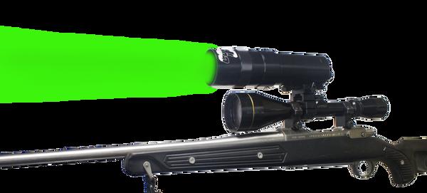 Coyote Light GREEN LED Adjustable Focus Zoom Beam Long Range Hunting Light
